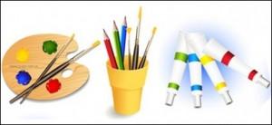 palette-pinceaux-crayons-de-couleur-de-la-peinture_429693